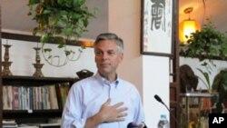 洪博培大使2010年在北京三味书屋发表演讲