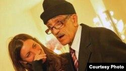 """Safinez Bousbia sa Mohamedom Ferkiouiom, koji ju je inspirirao za film """"El Gusto."""" (Kays Djilali)"""