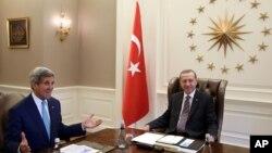 جان کری و اردوغان