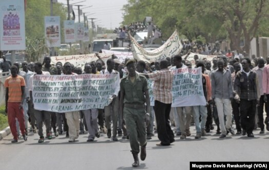 1970s Peace Protests South Sudan Peace Protesters