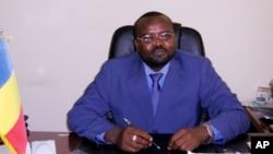 Le ministre tchadien de la Justice, Mahamat Hassan, à N'Djamena, Tchad, 15 avril 2006.