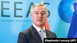 Predsednik Crne Gore Milo Đukanović tokom jedne od poseta Briselu (Foto: Pool via AP/Stephanie Lecocq)