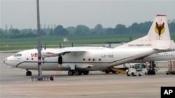 Ndege za aina ya Antonov hutumiwa zaidi kwa usafiri DRC