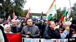 Общегражданский митинг Комитета пяти требований на Пушкинской площади в Москве