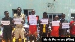 Meliantes detidos no Uíge, Angola