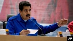 """El líder del régimen chavista indicó que no tolerará que """"se siga conspirando con la mentira para dañar a Venezuela""""."""