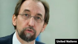 """There are multiple, credible allegations of massive human rights violations in Kasai, Kasai Central, Kasai Oriental and Lomami provinces, said Zeid Ra'ad Al Hussein, High Commissioner for Human Rights."