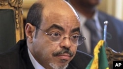 A picture of Ethiopian Prime Minister Meles Zeinawi taken last year.