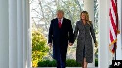 Serok Donald Trump û Xanima yekem Melania Trump