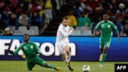 Dünya Kuboku 2010-da ilk het-trik Argentina-Cənubi Koreya oyununda qeydə alınıb