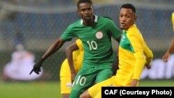 Le Nigeria et le Rwanda ont fait match nul, le 15 janvier 2018.