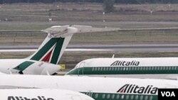Armada Alitalia, sebuah maskapai penerbangan Italia.