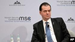 2020年2月16日,羅馬尼亞總理奧爾班在德國參加慕尼黑安全會議。 (資料照)