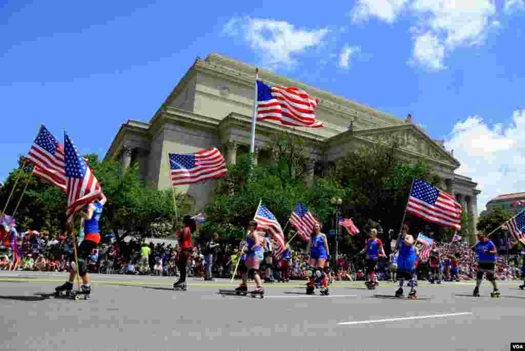 День независимости. Парад