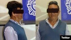 مرد کلمبیایی حدود نیم کیلو کوکائین را بطور خیلی آشکاری زیر کلاه گیسش پنهان کرده بود