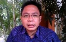Direktur Eksekutif Indikator Politik Indonesia Burhanuddin Muhtadi. (Foto: VOA/Sasmito)