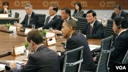 Pertemuan para pemimpin APEC di Honolulu, Hawaii (13/11).