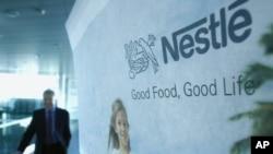 Photo d'archives (22 février 2007): Peter Brabeck-Letmathe, PDG de la multinationale Nestlé du 5 juin 1997 au 1ᵉʳ avril 2008.