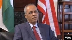 Brigi Rafini, Premier ministre du Niger. Washington D.C, 14 septembre 2012.