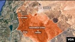 Nexşa başûrê rojavayê Sûrîyê