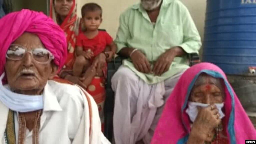 بھارت میں سو برس کا جوڑا کرونا سے صحت یاب