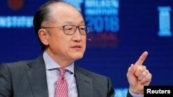 Presiden Bank Dunia Jim Yong Kim hari Senin (7/1) mengumumkan pengunduran dirinya (foto: dok).