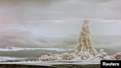 Испытание «Царь-бомбы» над архипелагом Новая Земля в СССР