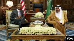 Prezident Obama va Qirol Salmon