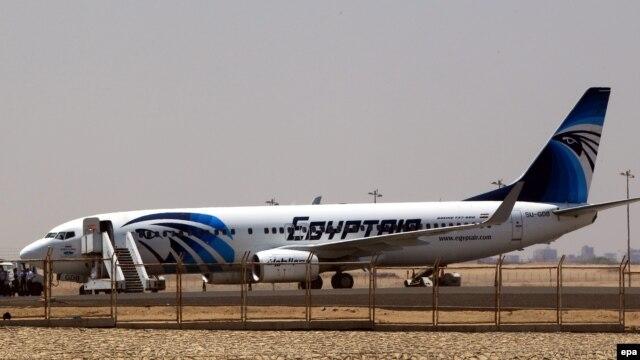 Một máy bay chở khách của Hãng Hàng Không Ai Cập.