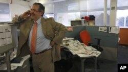 Miguel Henrique Otero, presidente editorial del periódico El Nacional es uno de los citados a declarar.