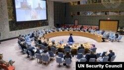 Conseil ya sécurité na Nations unies.