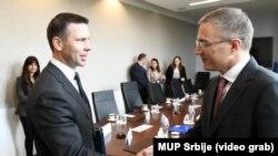Nebojša Stefanović i Kevin Mekalinen