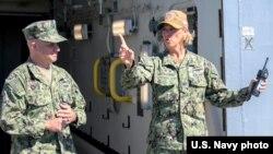 Капітан Емі Бауерншмідт, 2019 рік. Фото ВМС США