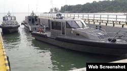 Hoa Kỳ chuyển giao xuồng Metal Shark cho Việt Nam hồi đầu năm ngoái.