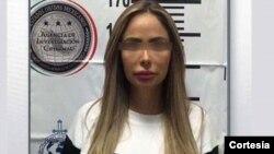 """La detención de Ana Maria Hernandez, alias """"La muñeca"""" se produjo el pasado 26 de octubre y trasladada a un penal no identificado hasta su extradición. [Foto: Cortesía, Zocalo.com]."""