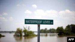Nước sông Mississippi tiếp tục dâng cao trên đường chảy ra Vịnh Mexico