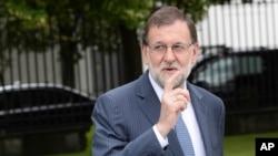 FILE - Spanish Prime Minister Mariano Rajoy.