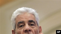 Libya's Foreign Minister Moussa Koussa (file photo)