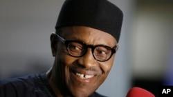 尼日利亞新的總統勝選人穆罕默杜布哈里。