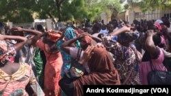 La grève des fonctionnaires à N'Djamena, au Tchad, le 30 mai 2018. (VOA/André Kodmadjingar)