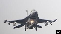美國政府將為台灣F-16型戰機升級