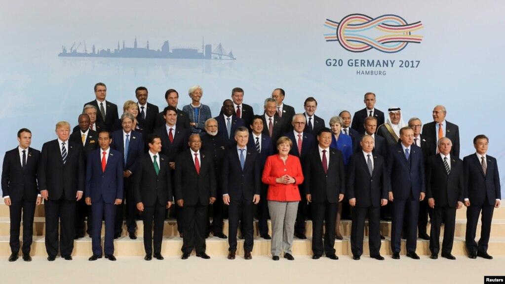 Mbyllet takimi i G20-ës në Hamburg