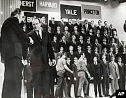 全是男生的欢乐合唱团1969年上电视