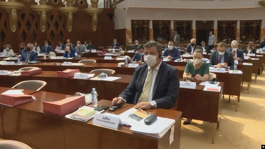 Vështirësi rreth mbajtjes së seancave në parlamentin e Maqedonisë së Veriut