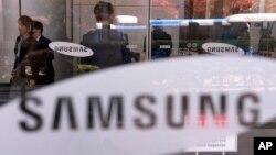 Kantor pusat perusahaan Samsung di Seoul, Korea Selatan (foto: ilustrasi).
