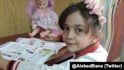 Bana Alabed, anak perempuan Suriah, yang menuai perhatian global karena cuitannya dari Aleppo (foto: dok).