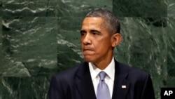 Rais Barack Obama akihutubia katika Umoja wa Mataifa huko New York City