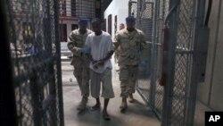 關塔那摩灣監獄 (資料照片)