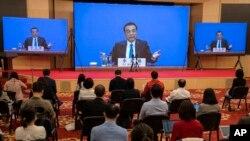 Zasedanje kineskog parlamenta koji je usvojio Zakon o nacionalnoj bezbednosti Hong Konga