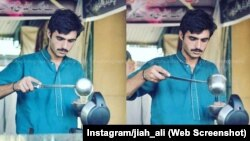 Arshad Khan is known around the world after a photographer posted a photo of him making tea in Pakistan.